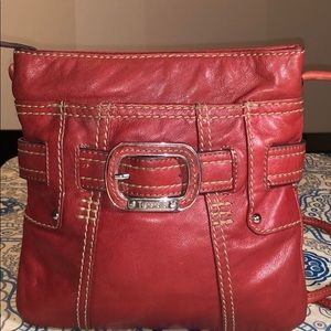 Tignanello Crossbody Leather Shoulder Bag